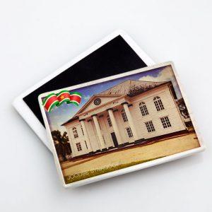 Magneet-Keramiek <BR> Vintage_Synagoge