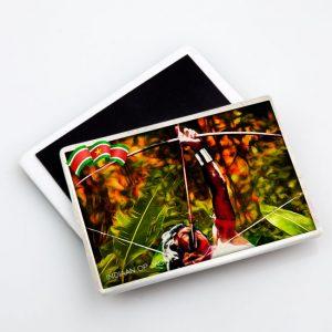 Magneet-Keramiek – Vintage_Fosteng_Indiaan