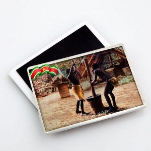 Magneet-Keramiek <BR> Vintage_Fosteng_Marrons