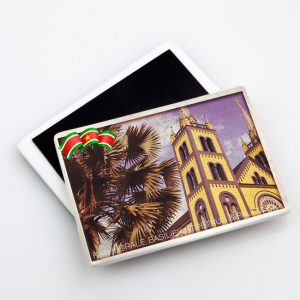 Magneet-Keramiek <BR>Vintage_Kathedraal