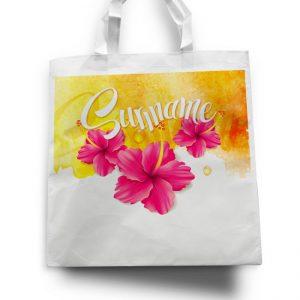 Tas – Suriname-bloemen