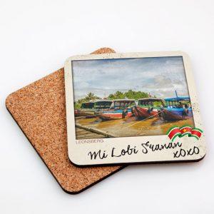 Onderzetters Hardboard Vierkant – Leonsberg