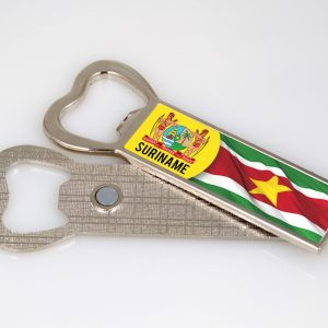 Fles opener Magneet <BR> SuVlag-Wapen