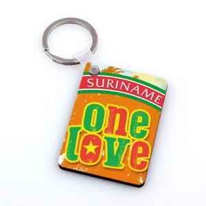 Sleutelhanger-Hardboard <BR>OneLove