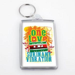 Sleutelhanger-Acrylic – OneLove-SuVibe