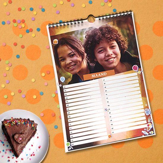 verjaardags kalender gerpsonaliseerd surinaamse geschenken