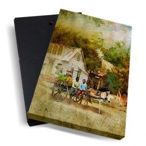 Canvasbox – Fosteng <BR> Scene-02 – verticaal