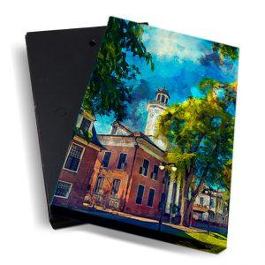 Canvasbox – art <BR> Min.Fin – verticaal
