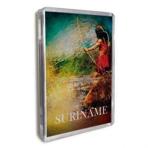 Magneet-Acrylic-Frame <BR> Fosteng Scene Indiaan