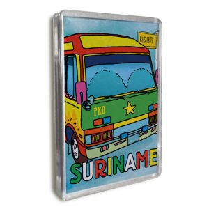 Magneet-Acrylic-Frame<BR> Bus
