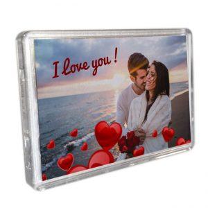 Magneetjes acrylic frame <BR>Gepersonaliseerd