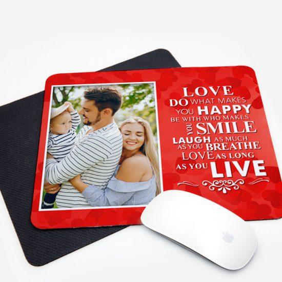 surinaamse gepersonaliseerde geschenken, muismat, kado, mousepad, love, valentine