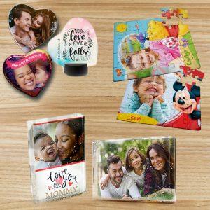 Puzzels, glitterboxen en Keramiek hart tegels