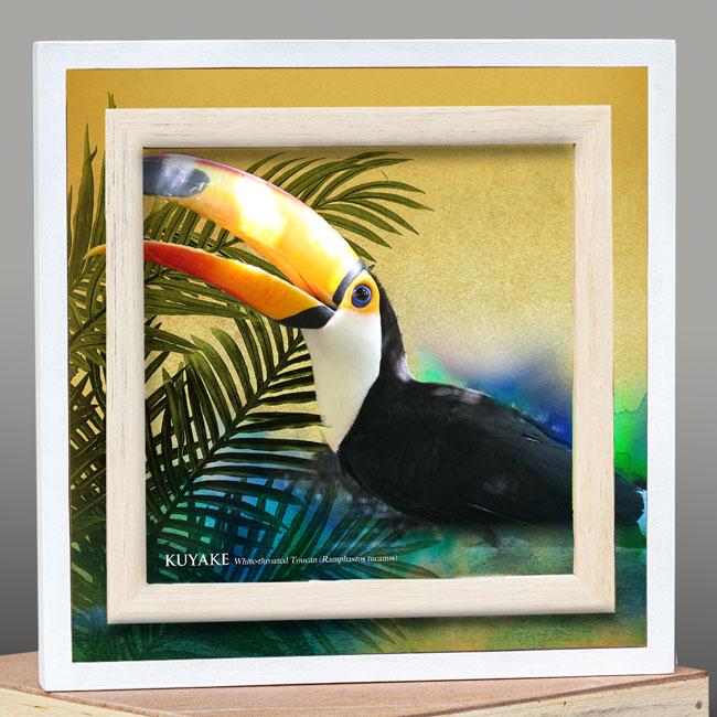 Canvas 3D lijst, suriname souvenirs, exclusief